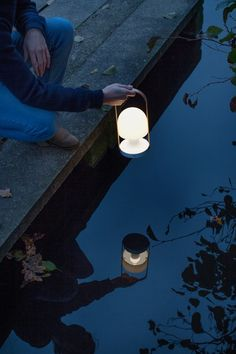Marset - FollowMe portable, rechargeable, cordless & LED lamp by Inma Bermúdez