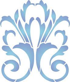 Small motif 46 (art stencil)