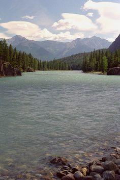 Bow River - Banff, Alberta - rafting trip was awesome!