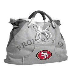 San Francisco 49ers Hoodie Tote Bag