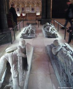 The Knights Templar, a powerful order of crusading monks. - The Temple Church is a late 12th-century church in London located between Fleet Street and the River Thames, built for and by the Knights Templar as their English headquarters. The building was originally used for Templar initiation ceremonies, and today, visitors can see the marble effigies of the medieval knights buried on the grounds.