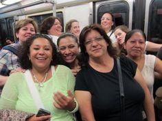 NT en el metro.... Julio 2014