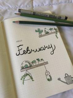 I love my February spread so far!