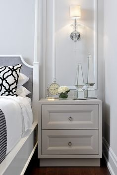 #Woodvalley Master Bedroom Dresser As Nightstand, Master Bedroom, Sweet Home, Vanity, Wood, Table, Furniture, Home Decor, Yurts