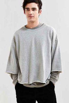 UO Frazier 3/4-Sleeve Sweatshirt