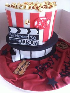 Movie Themed Cake.