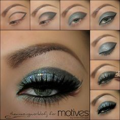 Motives® Pressed Eye Shadow Galaxy