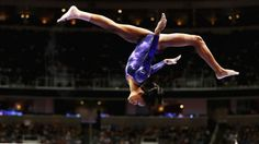 """Gabby Douglas will be the 2nd African-American woman to compete as an Olympian for the US Women's Gymnastics Team.  I'm so proud of her!  Me too!   """"the flying squirrel!"""""""