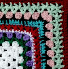 Franciens haakwerk: Crochet colorful borders