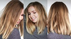 Excellent hair self blonding concepts - Hair Style 2019 Fresh Hair, Soft Hair, Long Bob Styles, Curly Hair Styles, Natural Hair Styles, Long Hair Wedding Styles, Ash Blonde Hair, Different Hairstyles, Loose Curls