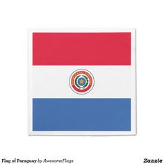 Flag of Paraguay Disposable Napkins