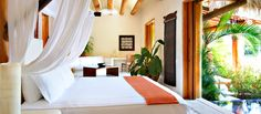 The Lagoon suite, The Tides hotel in Zihuatanejo Mexico. I want to go to there.
