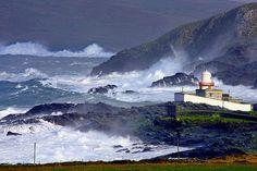 stormy day on valentia island   amazing work of Valerie O'Sullivan photographer killarney kerry