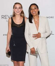 Dynamic duo: Joining the talented beauty in celebrating the fashion brand's latest scent w...