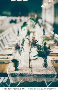 Eclectic & Enchanting: Elgin Valley Wedding   Real weddings   Table Decor Inspiration   Photography by Fiona Clair Photography