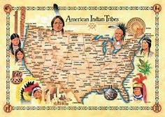MasterPieces / Explore America American Indian Tribes 500-piece Puzzle MasterPieces