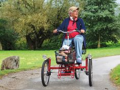elderly bicycle   ... Wheelers - for Seniors and People with Special Needs - draisin GmbH