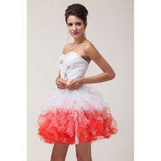 Crveno bela haljina sa karnerima