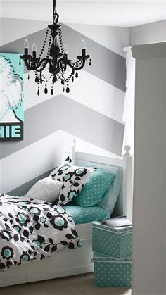 I would use this wall paint in the entry hall. I like the mint color as an accent.