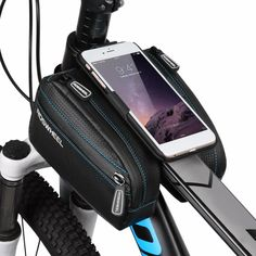 Roswheel Bike Bag Frame Front Head Top Tube Phone Bags Holder Pannier 2.4L Mobile Phone Bag Case Pouch Bike Accessories New