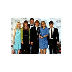 Movies Pics - harry potter movie cast ❤ liked on Polyvore featuring harry potter