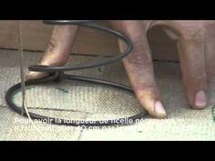 09_3 - Couture des ressorts sur les sangles - BAC PROFESSIONNEL TAPISSERIE BOULLE LPMA