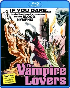 """My latest post on the Hitless Wonder Movie Blog concerns the new Blu-ray of the Hammer Films-AIP horror classic, """"The Vampire Lovers"""""""