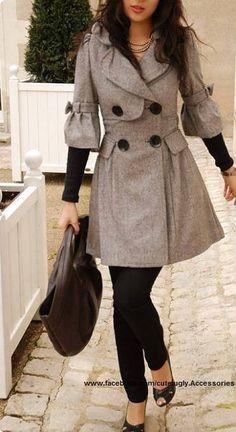 Grey jacket <3