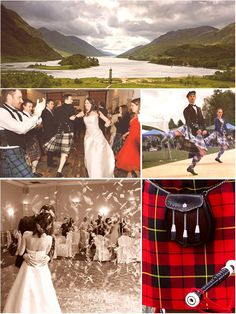 What better first dance than a ceilidh with all your family and friends!