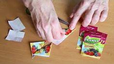 teabag folding - YouTube