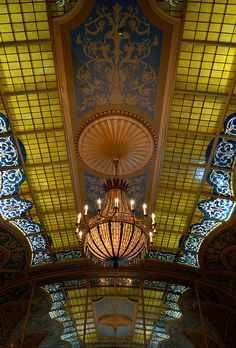 Detroit Opera House  I was here a couple of years ago, and the entire building is as breathtaking as this pic.