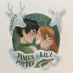 """""""Mi piace"""": 1,545, commenti: 4 - James ❤ Lily (@jily.potter) su Instagram: """"#james #lily #jily #love #otp #harrypotter #marauders #potter #evans credit to…"""""""