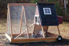 Triangular Chicken Tractor