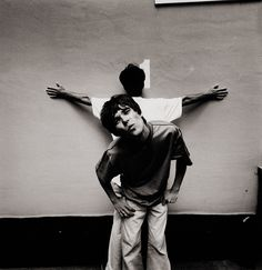 The Stone Roses -Ian Brown/John Squire  by Peter Anderson, 1989