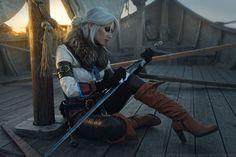 The Witcher 3: Wild Hunt - Cirilla on Skellige by DenikaKiomi.deviantart.com on @DeviantArt