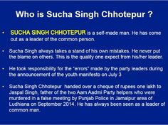 Sucha Singh Chotepur is a Self Made Man.  Man of Common People. #Schotepur @Schotepur