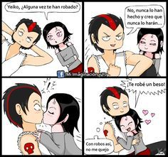 Te robo un beso by yamilMIYO on deviantART