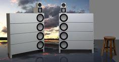 High End Audio Equipment For Sale Speaker Amplifier, Hifi Speakers, Built In Speakers, Hifi Audio, Audio Design, Speaker Design, Equipment For Sale, Audio Equipment, Sound Speaker