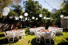 Image detail for -Backyard Wedding Ideas, Ceremony Decorations, Yard Layouts, and more