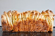 cheesy puff pull apart bread