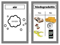 Earth Day/Environment Vocabulary Word Wall - This is a set of 24 Earth Day vocabulary cards with words and pictures to post in your classroom on a science, environment, or Earth Day word wall or bulletin board.