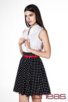 Vestido, Modelo 18777. Precio $300 MXN #Lineas #outfit #moda #tendencias #2014 #ropa #prendas #estilo #primavera #outfit #vestido