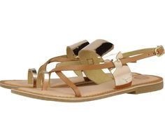 Gioseppo 2017!! Spring/summer Collection ss17 Classy Gold & Tan Sandals