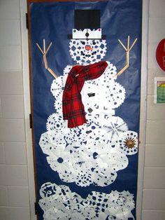 School Christmas Door Decorating Contest
