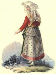 il costume popolare in italia - Cerca con Google