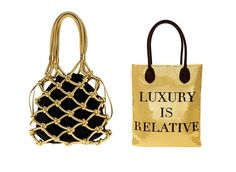 Sweetie Moschino bags for leisure.  Creatives...