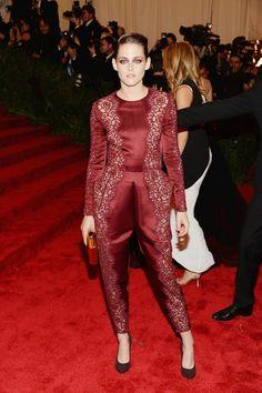 Kristen Stewart in Stella McCartney at the Met Gala 2013