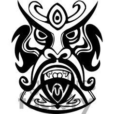 Royalty-Free ancient tiki face masks clip art 013 Clipart Image ...
