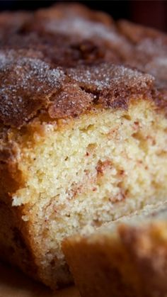 The Amazing Amish Cinnamon Bread Alternative ~ no starter needed... So moist and delicious!!