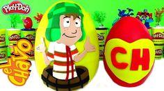 Huevos Sorpresas Gigantes de El Chavo del Ocho y el Chapulin Colorado Pl...